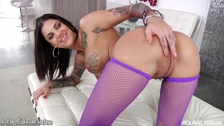 Bonnie Rotten pounded in the ass and squirting
