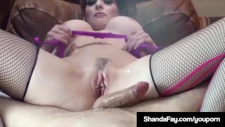 Canadian Cougar Shanda Fay Gets Her Pussy Licked & Fucked!