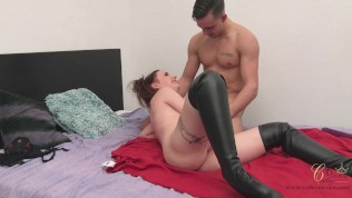 069 - Husband is away - real orgasm with his lover.mp4
