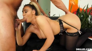 Anal Is Her Favorite But Big Tit Blonde Assh Needs To Get Fucked Right