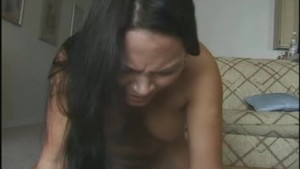 Asian girl on sybian