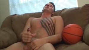 Jerking off on my basketball