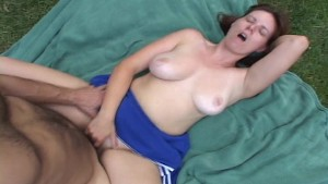 Cheerleader has the bad attitude fucked right out of her