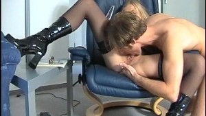 Work me over in the chair 3/3