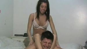Amateur Bed wrestling with Tiffany Preston
