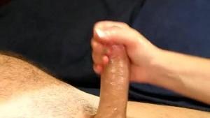 Amazingly Sexy Lube Handjob!