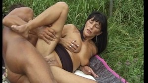 After thier workout he stretches out her box with his cock