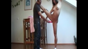 playing with my real doll