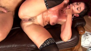 Short Haired MILF Gets Nice Gaping Creampie- CzechSuperStars