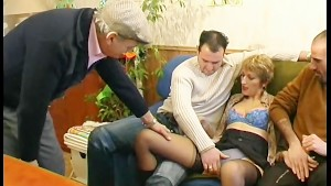 French woman, takes all kinds of loads - Telsev
