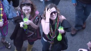 Mardi Gras girls will do anything for beads - DreamGirls
