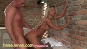 DaneJones HD Angelic beauty pleasures her man