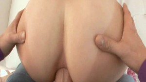 Sexy Big Booty White Girl Gets Her Asshole Drilled By A Thick Cock!
