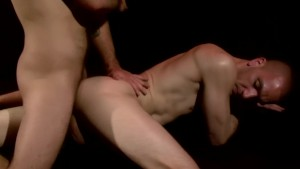 Muscular gays sucking and fucking - Factory Video