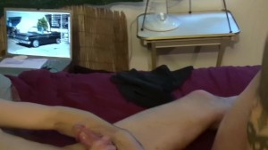 Riding and sucking cock - Factory Video