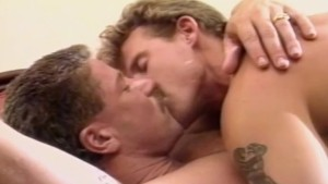 Muscular Donnie Russo fucks Danny Sommers in FIND THIS MAN (1993) - Classic Gay Porn