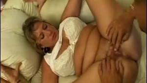 Lucky Gardener Fucked By A Chubby Mature