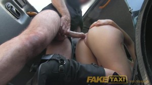 FakeTaxi Taxi fan finally gets infamous cock
