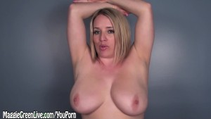 All Natural Maggie Wants Her Tits Covered in Cum JOI!