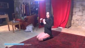Kinky MILF lapdances and gives nice BJ and handjob