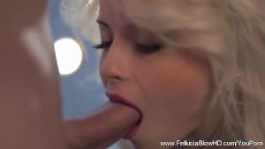 Blonde Babe Top BlowJob Performance