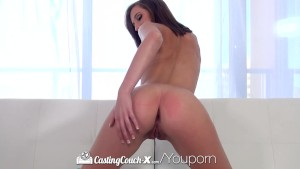 CastingCouch-X - Cutie Molly Manson enjoys her fuck at her casting