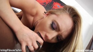 AJ pounded hard by big black cock