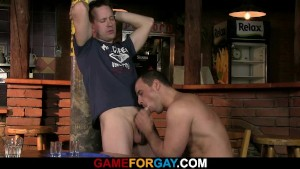 Barman s first gay sexual experience