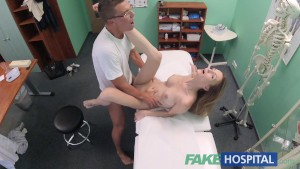 FakeHospital Hot Czech patient craves hard cock in her soaking wet pussy