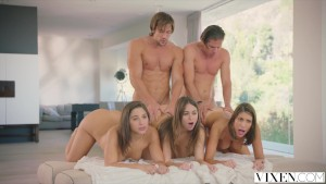 VIXEN Riley Reid, August Ames and Abella Danger s Day Out
