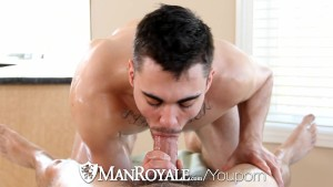 ManRoyale - Massage Turns Into Hardcore Fuck
