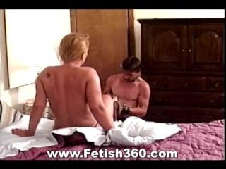 Bondage and Foot Fetish