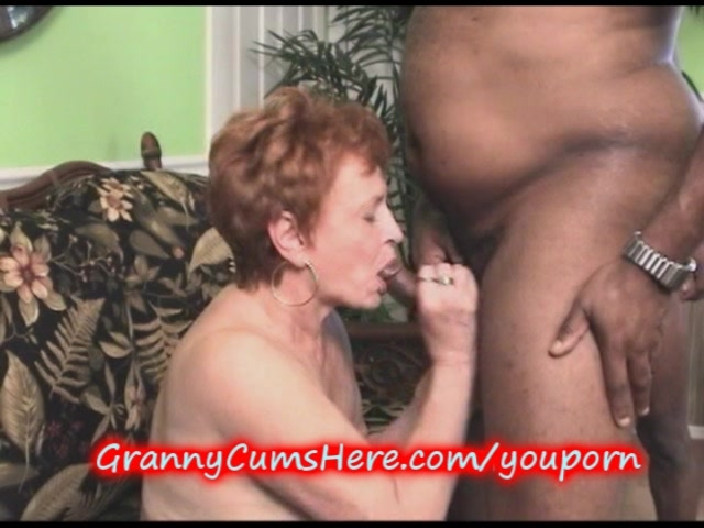 Multiple grannies suck man