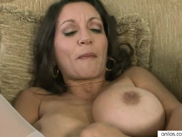 Shaved Pussy Anal Dildo