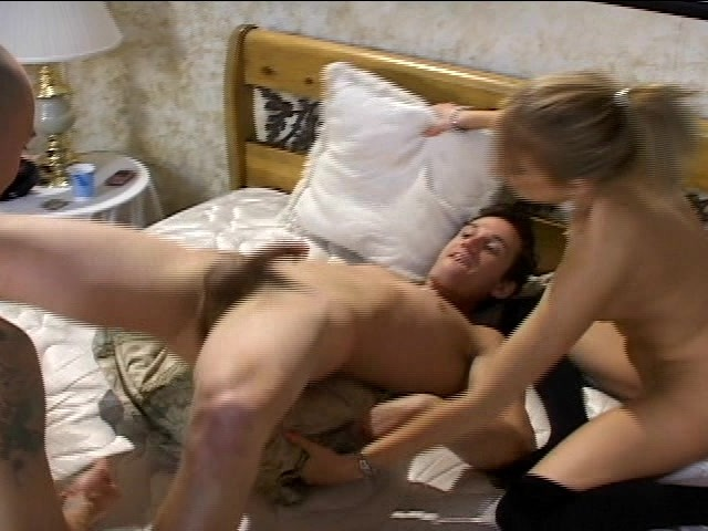 Husband, Wife And Friend Let Loose And Have Some Fun -4297