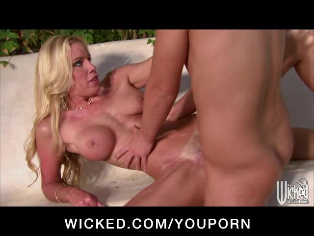 Czech Blonde Big Tits Public