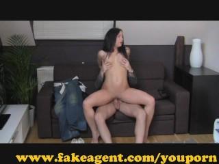 FakeAgent Surprise Creampie!