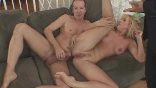 MILF Swinger Wife Fucked In Front Of Husband