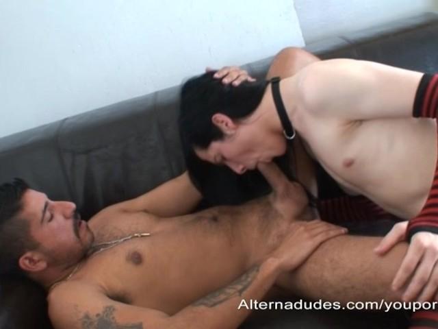 Three Pornstars One Guy
