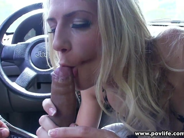 Skinny Blonde Shemale Fucked