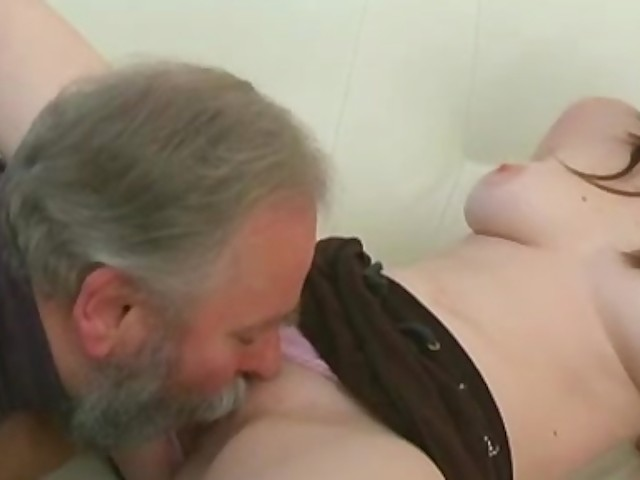 Chubby Teen Girl Gets Fucked By An Old Man, When Her -7922