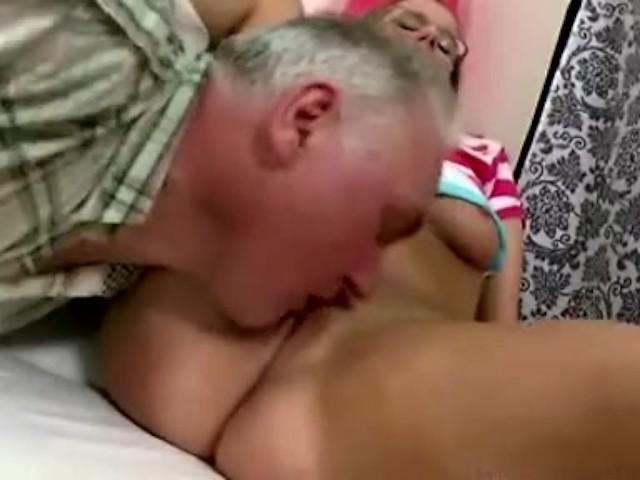 Asian Teen Old Man Creampie
