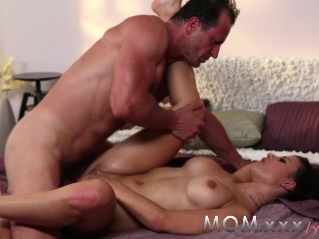 Brunette Romantic Milf Mom