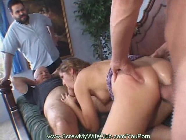 Anal Threesome For Swinger Wife - Free Porn Videos - Youporn-2558