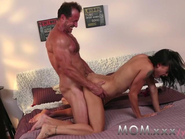 Hot Step Mom Fucking Son