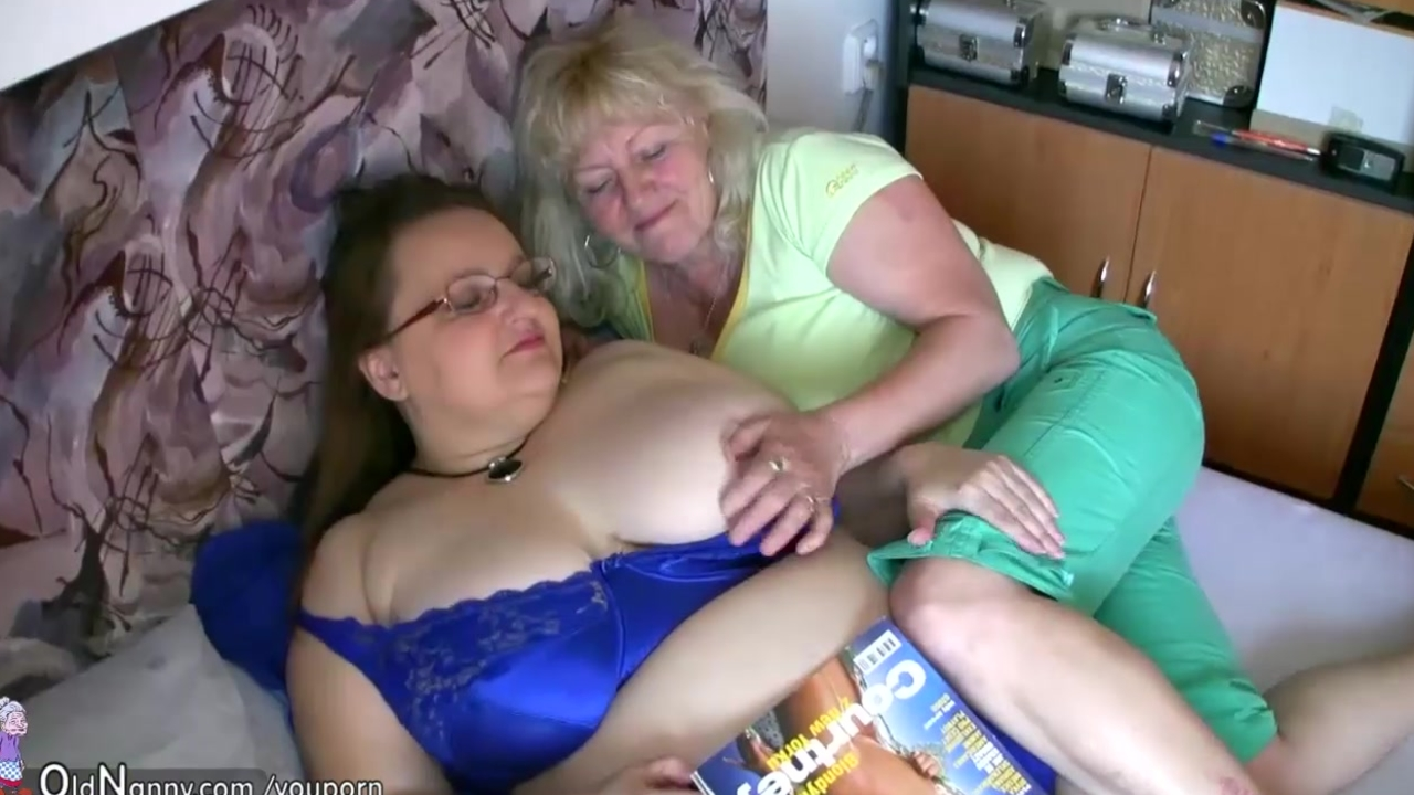 Old grannies big tits images