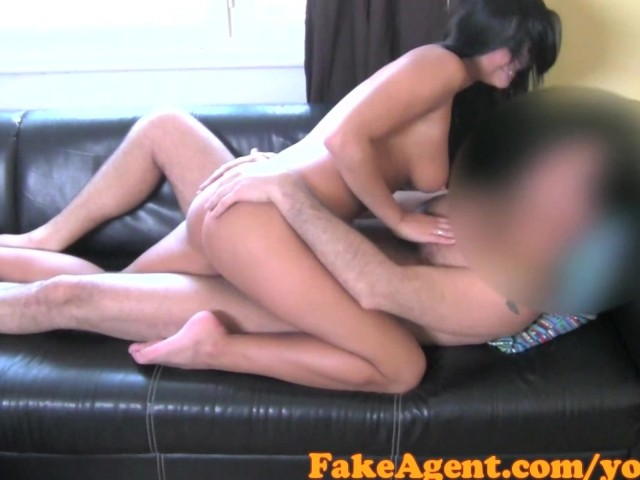 Hot Brunette Rides Dick