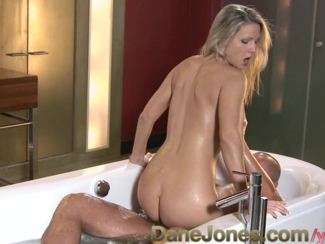 Hot Blonde Fucked The Bathroom