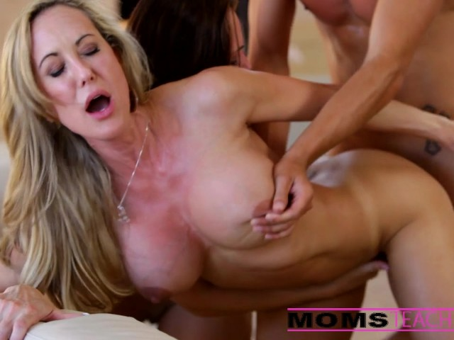 Milf Step Mom Threesome