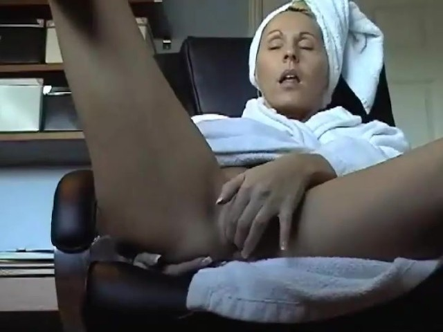 Mom Caught Fingering Pussy